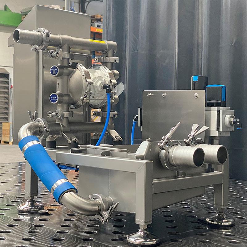 Van Leeuwentechniek - Maatwerk Machinebouw - Pompinstallatie voor marinade